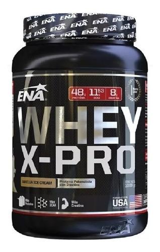 Ena Whey X Pro - Proteina Con Creatina Y Glutamina 1kg