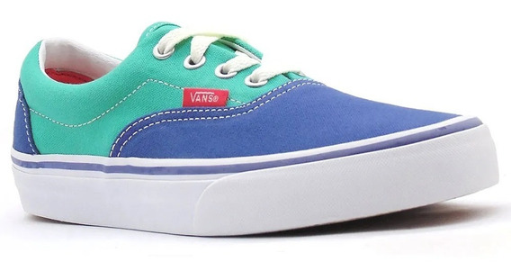 Tênis Vans Era Navy Aqua Green 7493 Original