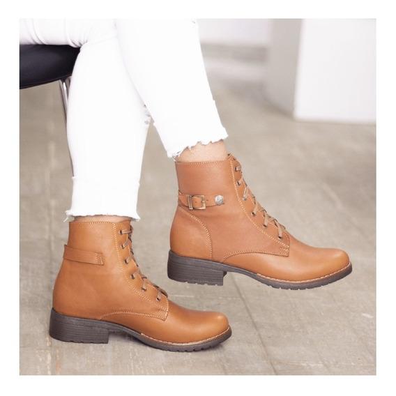 Botines Cuero Dama, Zapatos Cuero Maribu Shoes- Mod #516