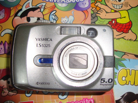 Maquina Digital A Pilhas Yashica Ls5325