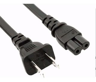 Cable De Poder Para Grabadora / Cargador Pc - Plano 1.5 Mts