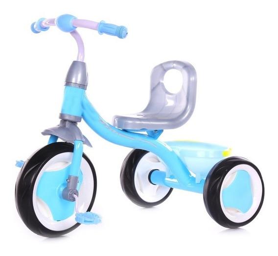 Triciclo Infantil Reforzado Priori Rt9040 Aluminio Canasto
