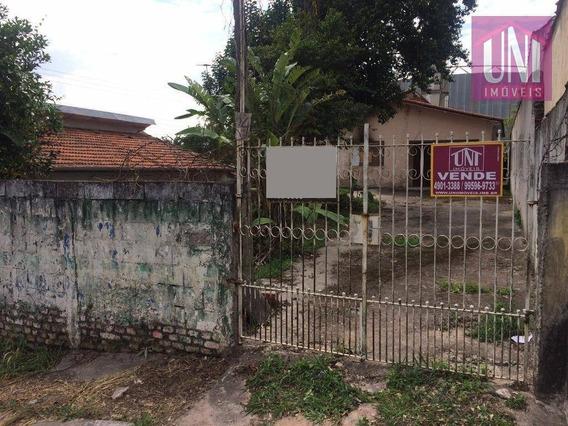 Terreno Residencial À Venda, Vila Noêmia, Mauá. - Te0163