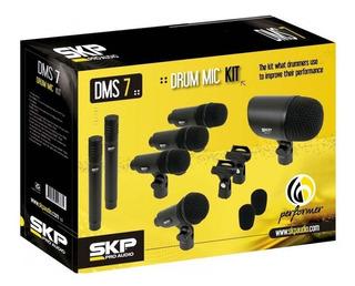Set De Microfono Skp Dms7 Dinámicos Profesionales Noaweb