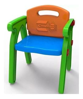 Sillita Infantil De Plástico Alex Juegosol Babymovil Art.10