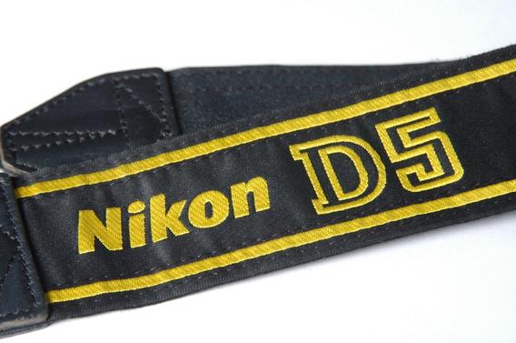D5 Tira D Pescoço Original Alça Camera Nikon Strap Correia