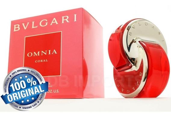 Perfume Bulgari Omnia Coral 65ml Edt Original