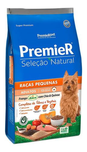 Ração Premier Pet Seleção Natural Raças Pequenas 2,5kg
