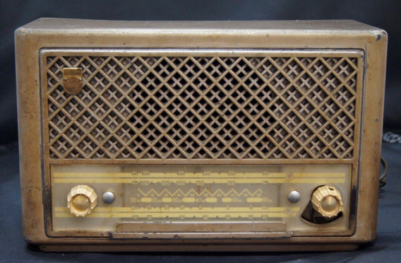 Rádio Antigo Philips Valvulado