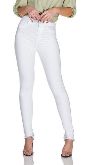 Calça Jeans Denim Zero Skinny Black And White - Dz3128