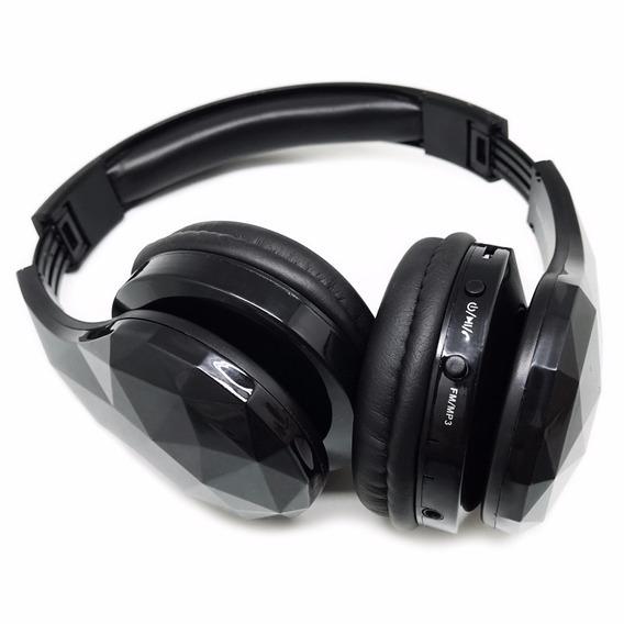 Headphone Ms-b8 Fone Bluetooth Radio Fm Mp3 Samsung iPhone