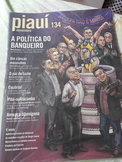 Revista Piauí Edicao 134