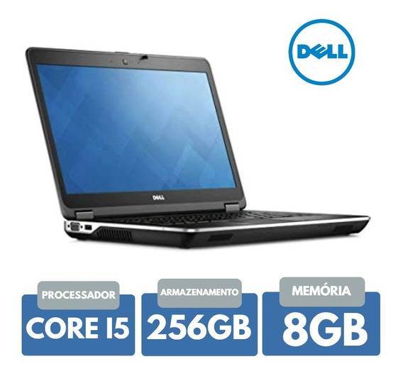 Notebook Core I5 Ram 8gb Ssd 256gb