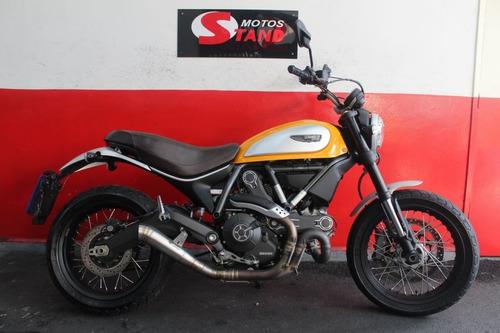 Ducati Scrambler Classic 800 Abs 2016 Laranja