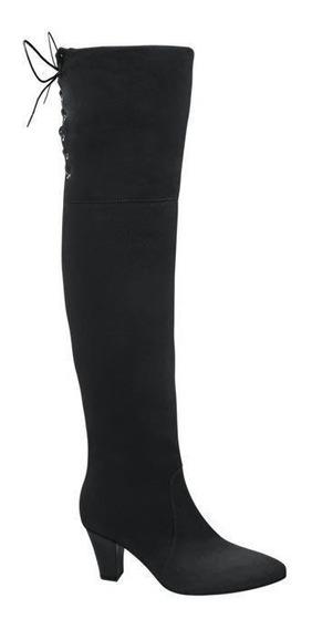 Bota Extra Larga Dama Marca Yaeli Mod K 1523 Negro