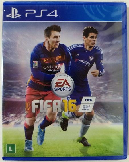 Fifa 16 Playstation 4 - Mídia Física - Novo Lacrado