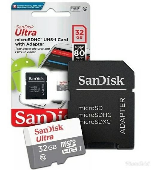 Cartão De Memória 32gb Ultra Original Sandisk Promoção