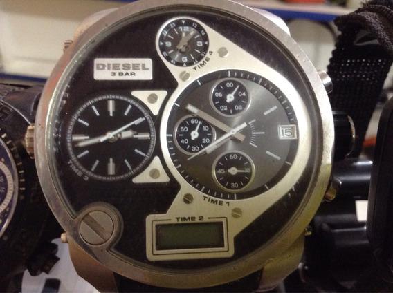 Relógio Diesel Original Muito Show Grande Sem Detalhes
