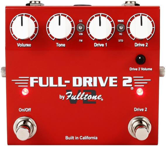 Pedal Overdrive Fulltone Fulldrive2 V2 Original Usa C/nf-e
