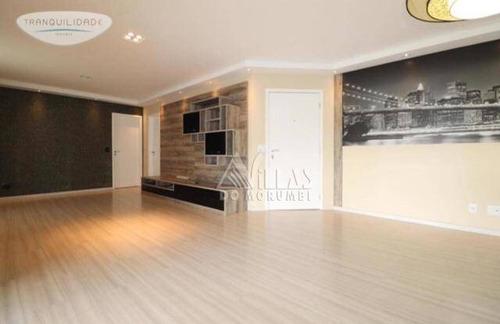 Apartamento Com 3 Dormitórios, 143 M² - Venda Por R$ 1.180.000,00 Ou Aluguel Por R$ 5.500,00/mês - Vila Andrade - São Paulo/sp - Ap2289