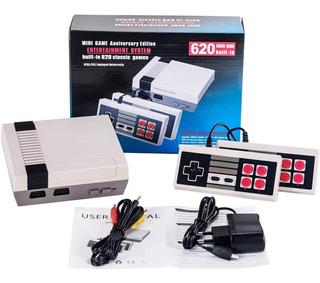 Consola Mini Retro Clásica 620 Videojuegos Entrega Inmediata