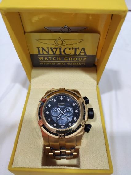 Relógio Invicta Bolt Zeus 12741 Dourado Preto