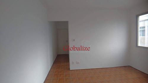 Apartamento Com 2 Dormitórios À Venda, 82 M² Por R$ 340.000,00 - Embaré - Santos/sp - Ap1036