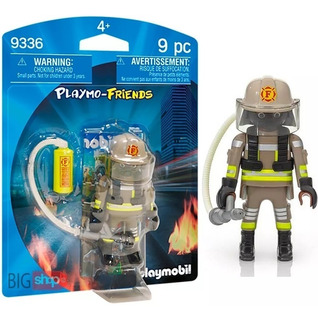 Playmobil 9336 Bombero Playmo-friends