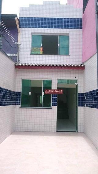 Sobrado Comercial, 111 M² - Vila Galvão - Guarulhos/sp - So0595