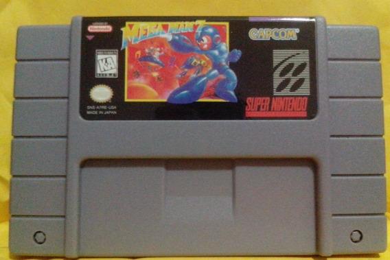 Jogo Mega Man 7 Snes - Frete Barato