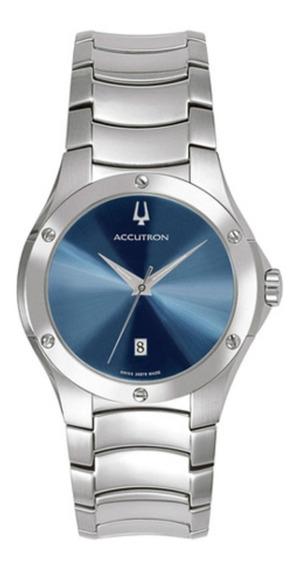Relógio Bulova Accutron Masculino - Swiss - Ref: 26b78