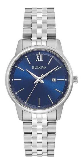 Relógio Feminino Bulova Classico Bracelet Azul 96m155