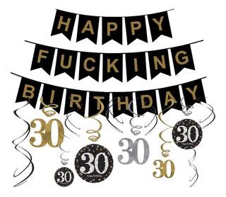 Decoracion Cumpleaños 30 Hombre Decoración En Mercado