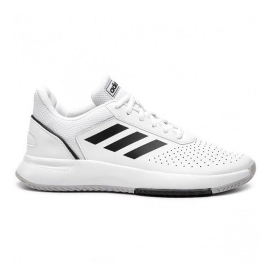 Zapatillas adidas Courtsmash Bl/ne/gr - Corner Deportes
