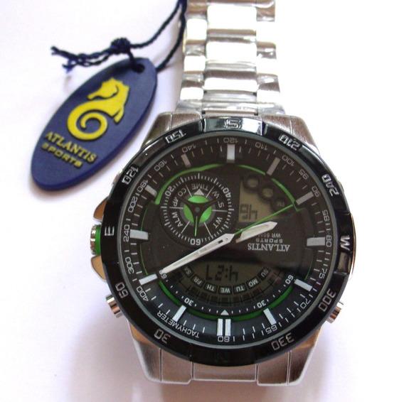 Relógio Masculino Original, Atlantis A - 3303,lote Com 3.