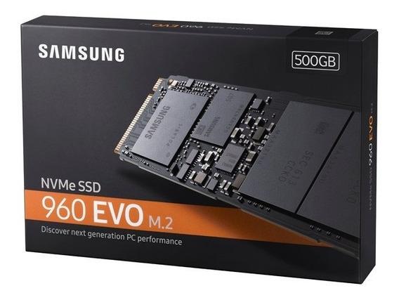 Ssd Samsung 960 Evo 500gb