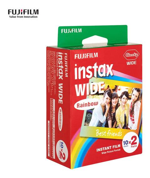 Fujifilm Instax Wide Camera Instant Film Papel Fotográfico