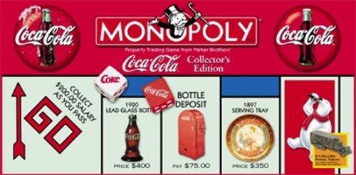 Edición De Coleccionista Monopolio Coca-cola