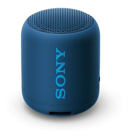 Caixa De Som Sony Srs-xb12 Extra Bass Bluetooth Speaker Azul