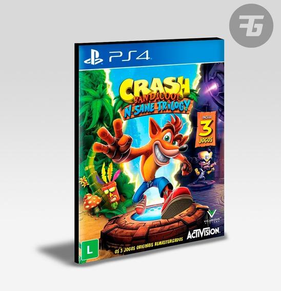 Crash Bandicoot N.sane Trilogy Ps4 - Envio Agora