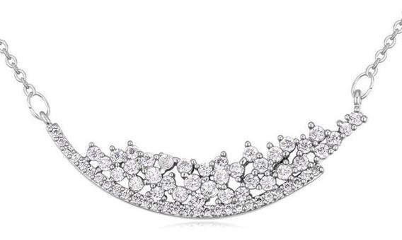 Collar Con Cristales, Ocean Heart Oh15-398
