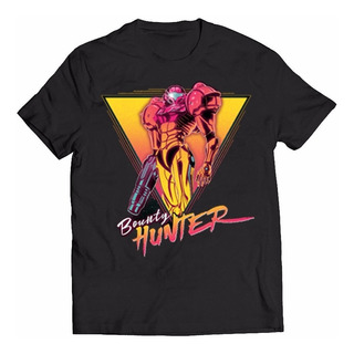 Camisa Camiseta Beauty Hunter Nintendo Metroid