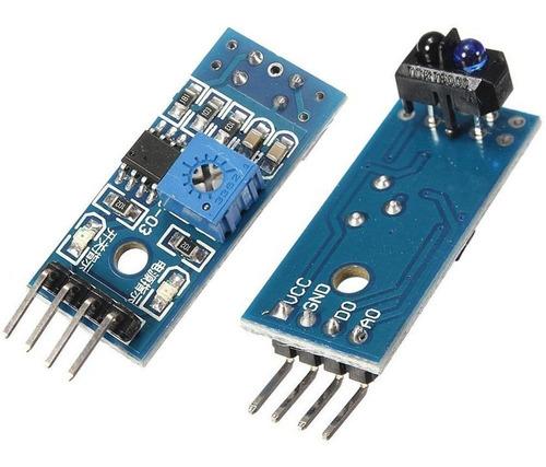 Sensor Obstaculos Seguidor Linea Tcrt5000 Arduino