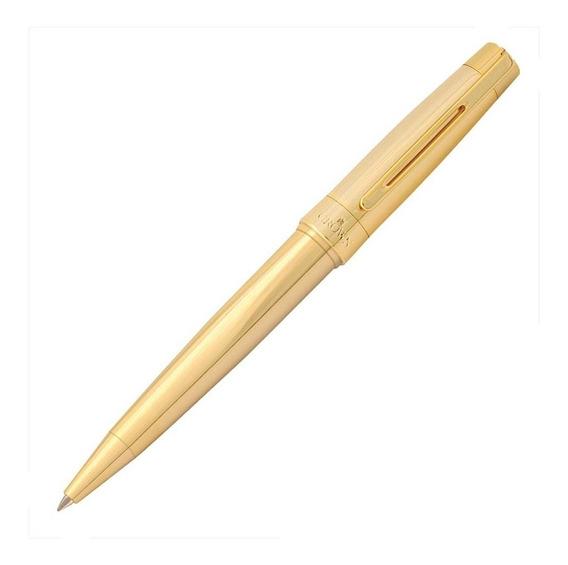 Caneta Crown President - Esferografica Cor: Dourada