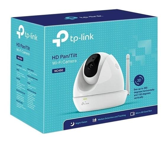 Tp-link Camera Hd Nc450 300mbps Wifi Visao Noturna Nfe