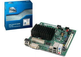 Placa Mãe Motherboard 2.13ghz 1m Ddr3 Atom D2700dc Intel Box