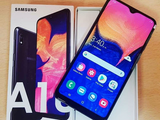 Samsung A10 Nuevo Con Caja, Cargador Y Audifonos.