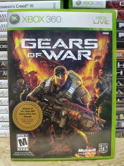 Jogo Gears Of War Xbox 360, Mídia Física