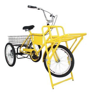 Bicicleta Cargueira Triciclo Marchas Freios A Disco