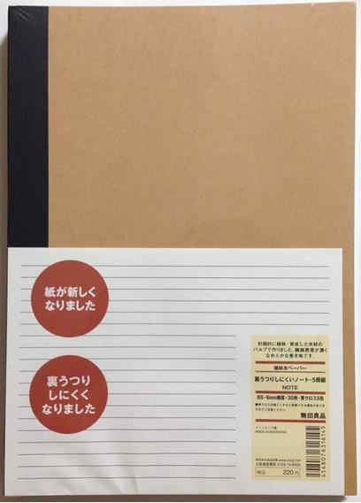Paquete De 5 Libros Rayados [5 Colores Encuadernación]
